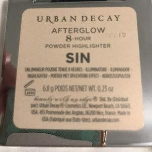 Urban decay afterglow highlighter - sin
